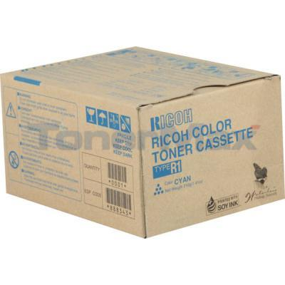RICOH AFICIO 3228C 3245C TYPE R1 TONER CASSETTE CYAN